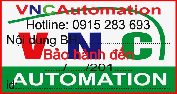 Mẫu tem bảo hành vncautomation